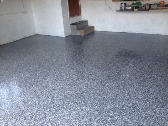Fast Curing Resin Floor System Installed In Wirral Bund Lining Systems
