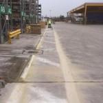 Line marking in Warrington