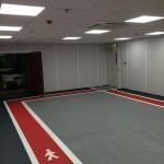 Anti-Slip Waterproof Car Park Flooring Systems with Detailed Line Marking
