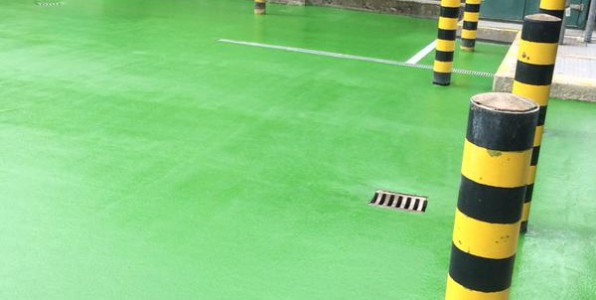 Bund lining / coating and concrete repairs in Rochdale, Manchester