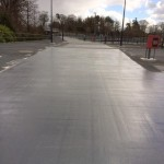 Car Park Surfacing – Resurfacing with Tremco MMA Rapid Curing Flooring System