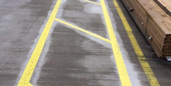 Line Marking Job in Warrington