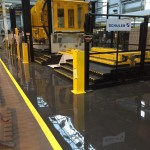 Flowcoat LXP Resin Floor Coating System with Line Marking