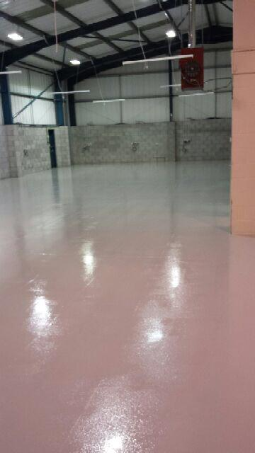 Warehouse Flooring Deeside, North Wales